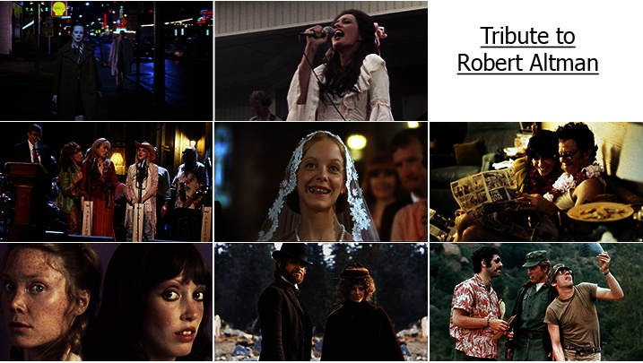 Robert Altman Tribute Season - images from the Sydney Film Festival 2014 Altman program