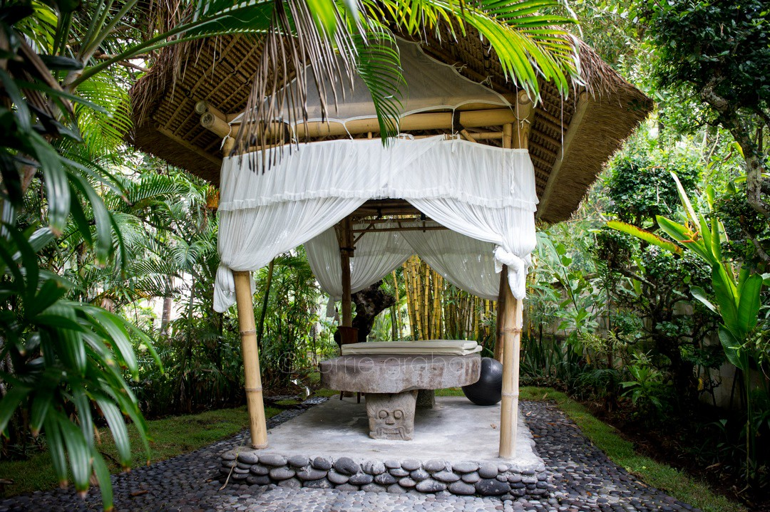 Outside massage area at Villa Campuhan, East Bali