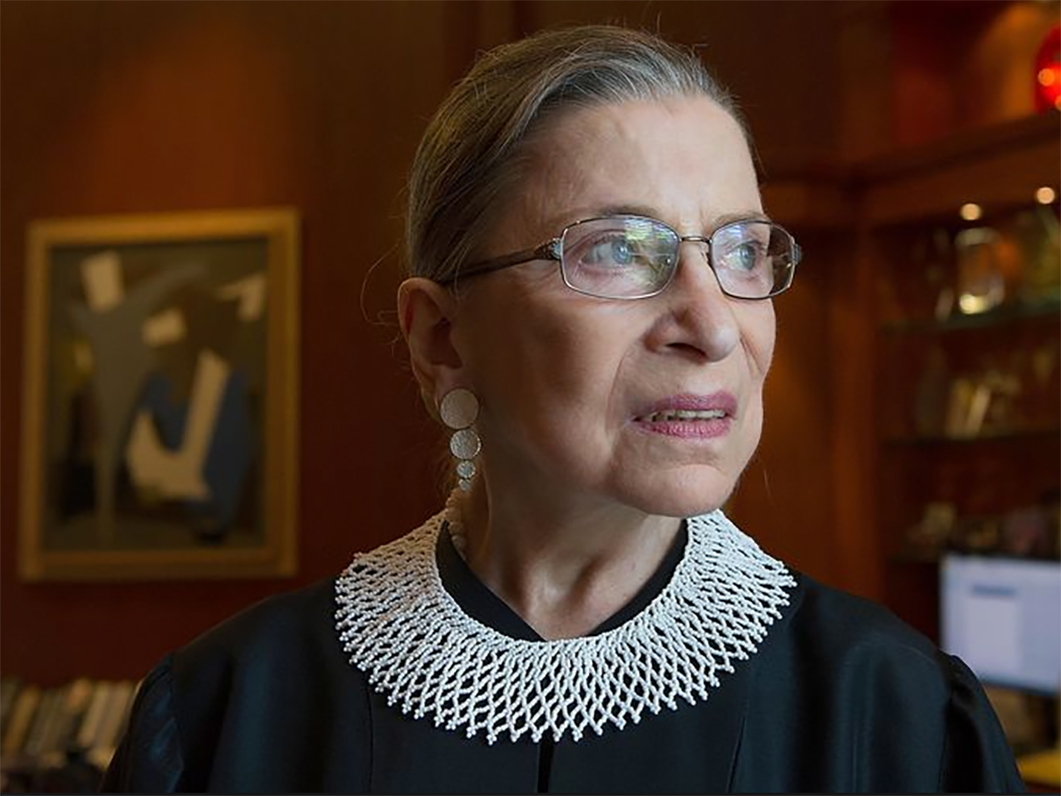 a biography of ruth bader ginsburg an associate justice of the supreme court of the united states At the age of 84, us supreme court justice ruth bader ginsburg  but without  a definitive ginsburg biography, the unique personal  ruth bader ginsburg is  an associate justice of the supreme court of the united states.