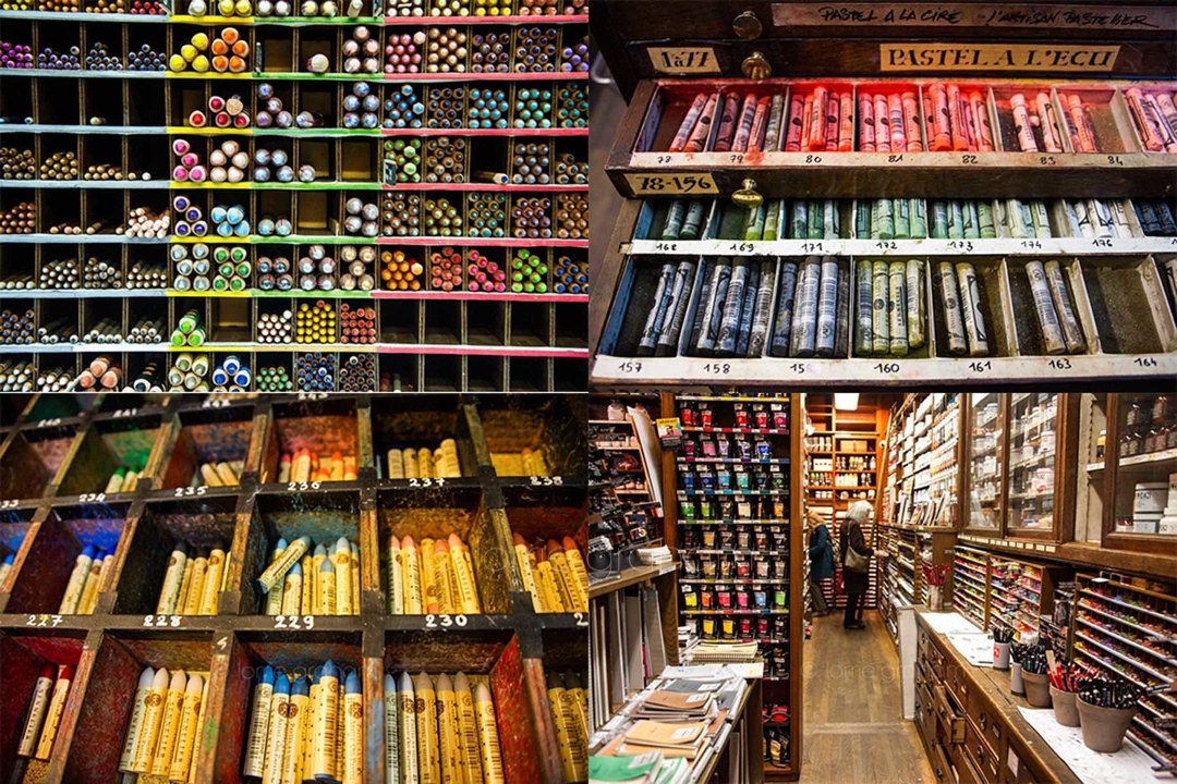 Art Shop sennelier - oldest art shop in paris | lorrie graham