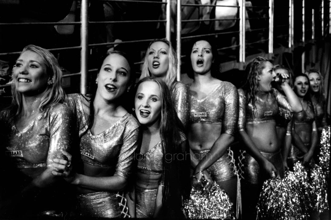 Mermaid Cheer squad, Stadium Australia, 1999