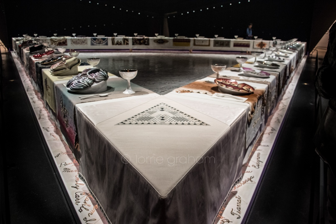 Superb Brooklyn Museum The Dinner Party Part - 8: The Dinner Party, An Important Icon Of 1970s Feminist Art And A Milestone  In Twentieth-century Art, Is Presented As The Centerpiece Around Which The  ...