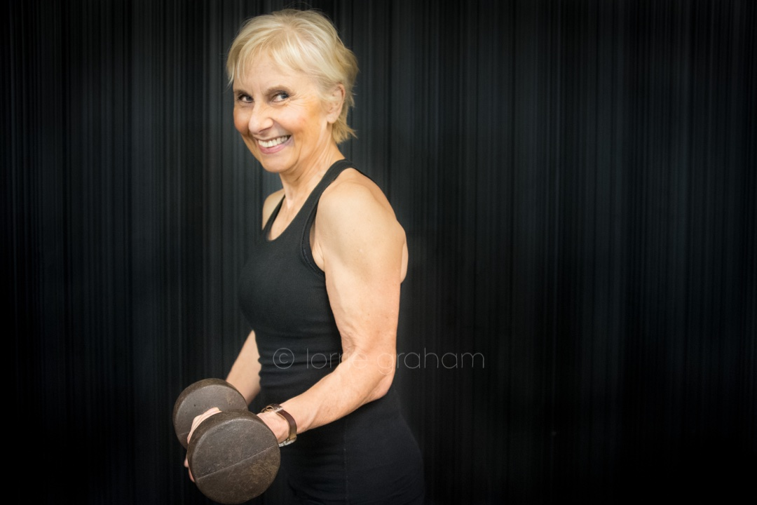 Paula Goodyear says lifting weights is good for women's health