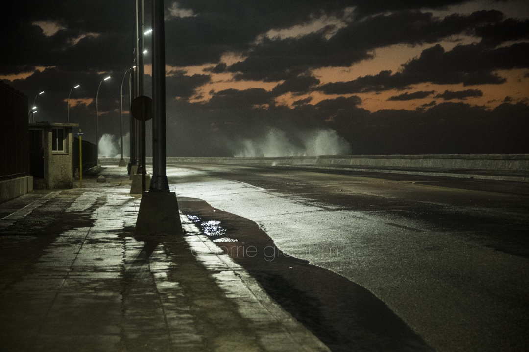Thinking of Havana, Cuba post Hurricane Irma. This was a walk we did on a Story night along the Malecon earlier this year....© Lorrie Graham