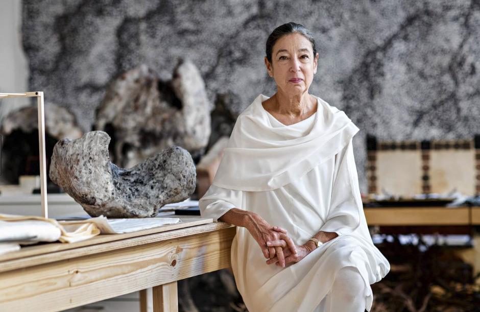 The American artist Michele Oka Doner has made just one dress her signature look, her uniform.