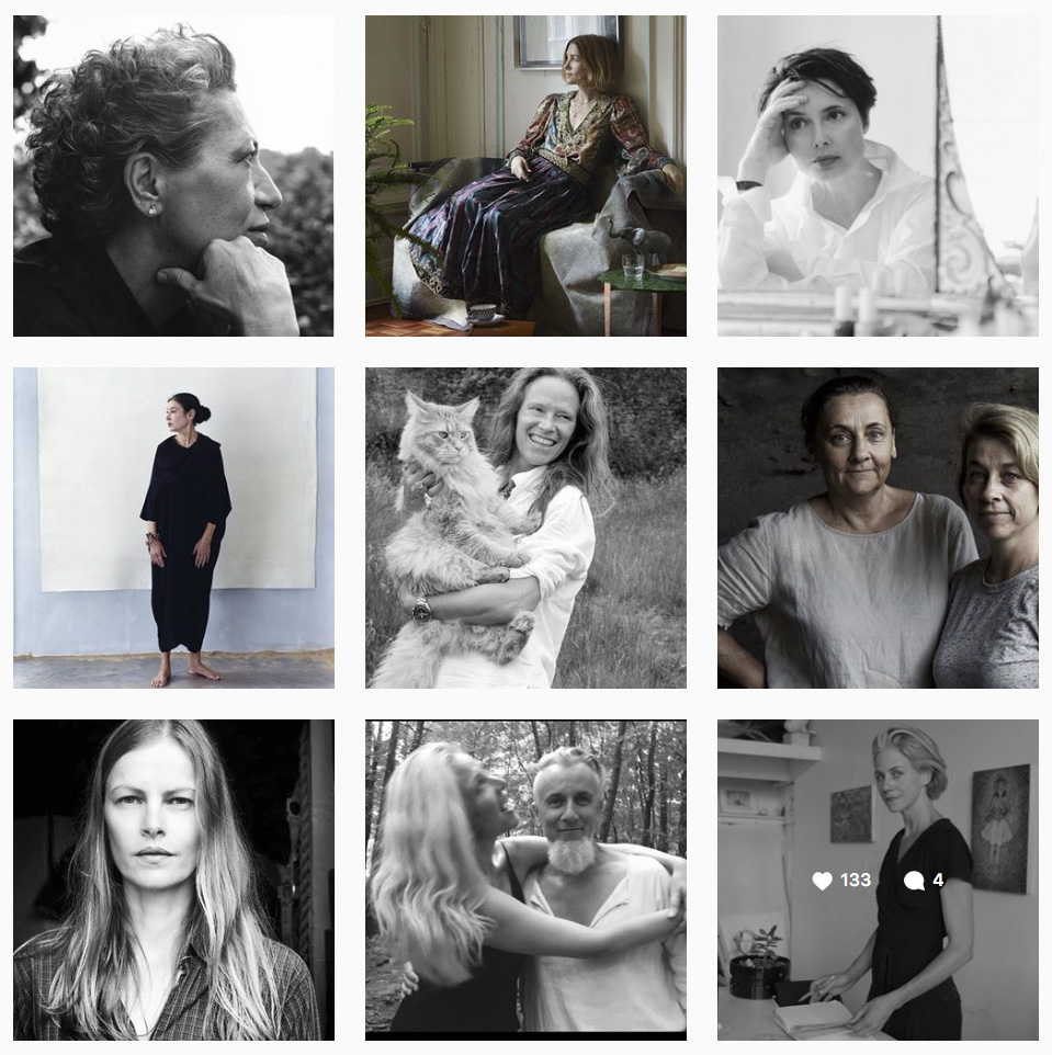 Instagram is proving a wonderful platform for women over 50. This account called The Silver Women is very inspirational.