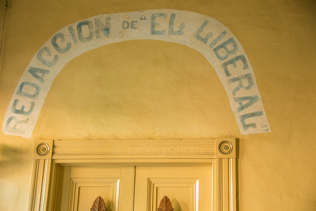 La Redaccion Restaurant in Trinidad Cuba became like a second home to us during our stay. Not unlike Casa Los Mangos.