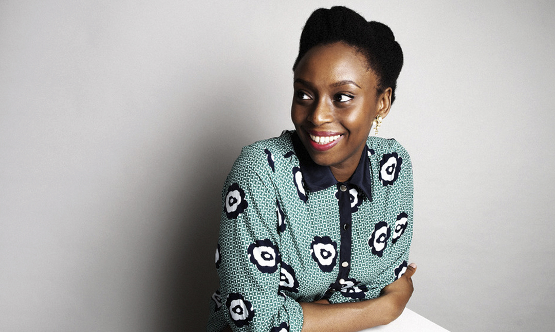 Chimamanda Negozi Adichie - We should all be feminists - doesn't have much time for those who might argue that feminism and fashion are on opposing ends of some imaginary spectrum