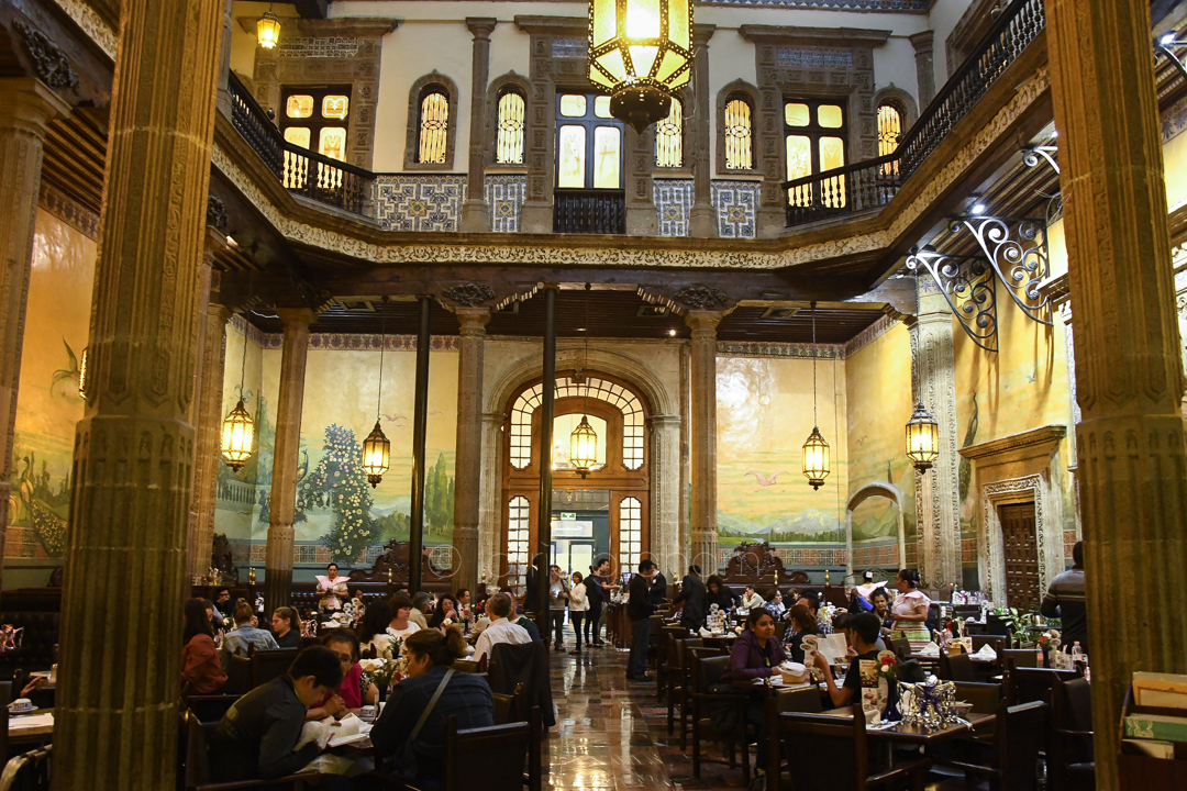 Centro Department Store and Bar and Dining Room, Mexico City, January 2017