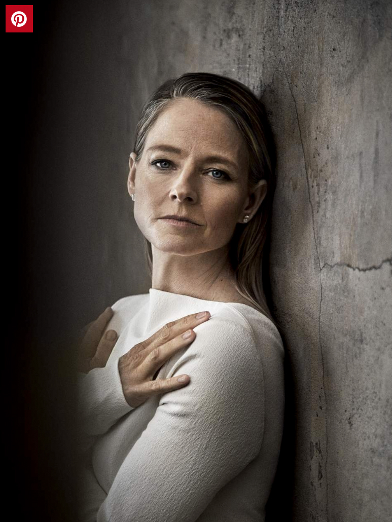 Women over 50 visible at last, Jodi Foster in the latest Porter Magazine