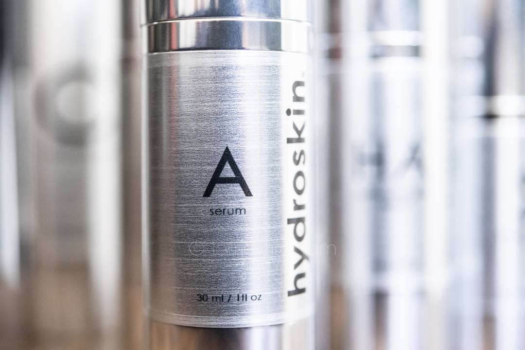 Hydroskin introduces their newest product the anti-acing Vitamin A serum