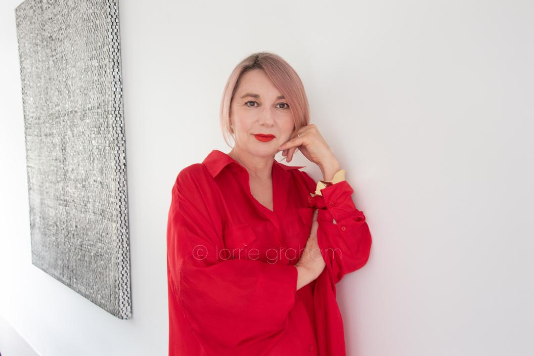 Profile and Style shoots with Audrey Kouzoumis, Manager of Jac + Jack Strand Arcade store, Sydney, 2018