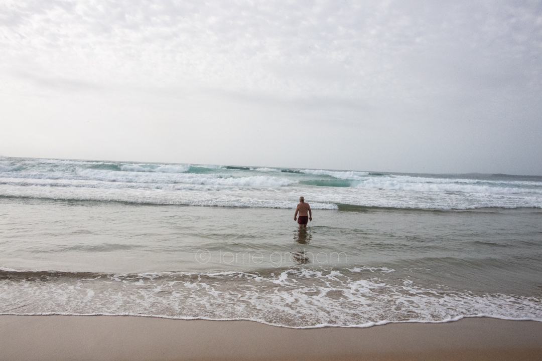 Images of Broulee Beach South on the NSW South Coast.