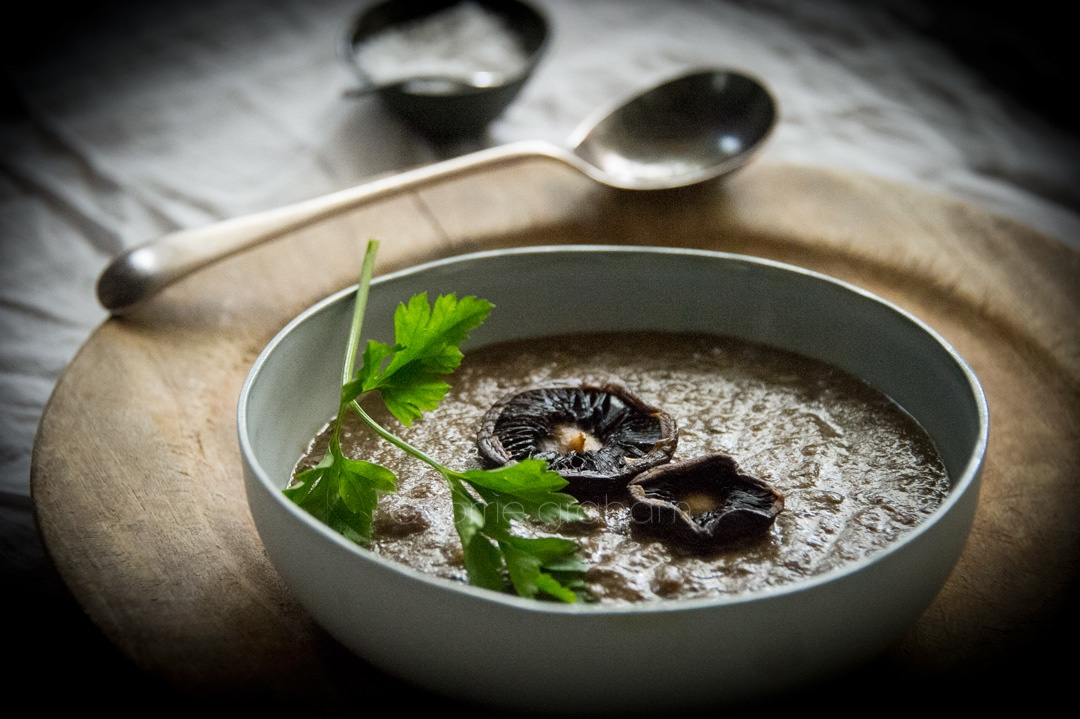 The very very best mushroom soup for a cold winter's day