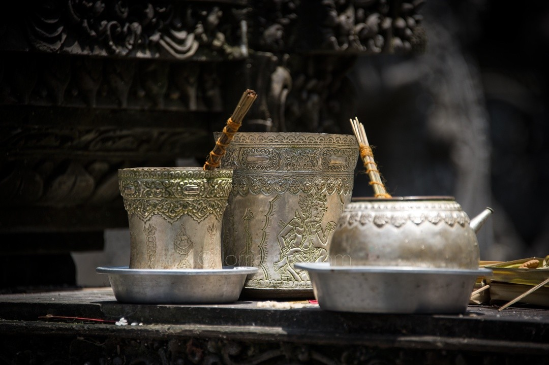 A selection of images from the Pura Tirtha Temple, Ubud