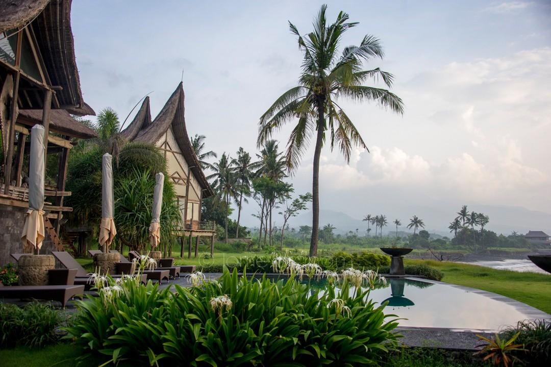 Pool and Gardens at Villa Campuhan, East Bali