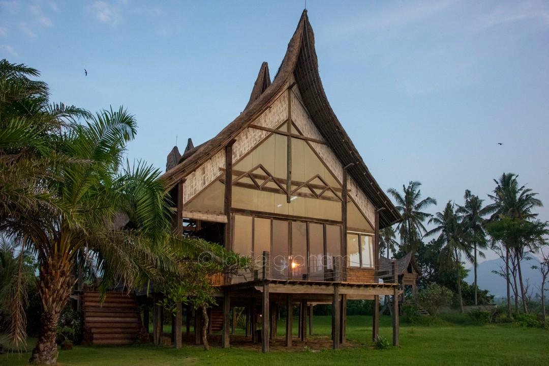 The Main Villa at Villa Campuhan, East Bali