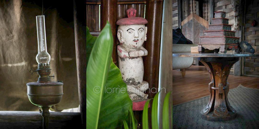 Bali Aga Statues at Villa Campuhan, East Bali