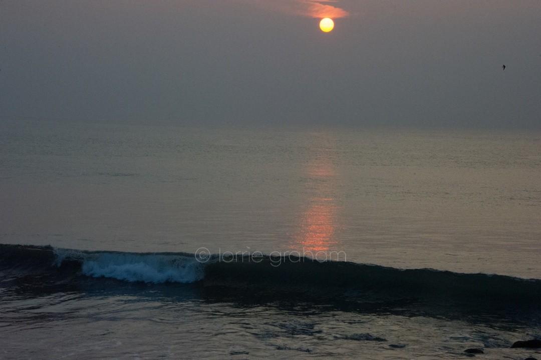 Sunset at Villa Campuhan, East Bali
