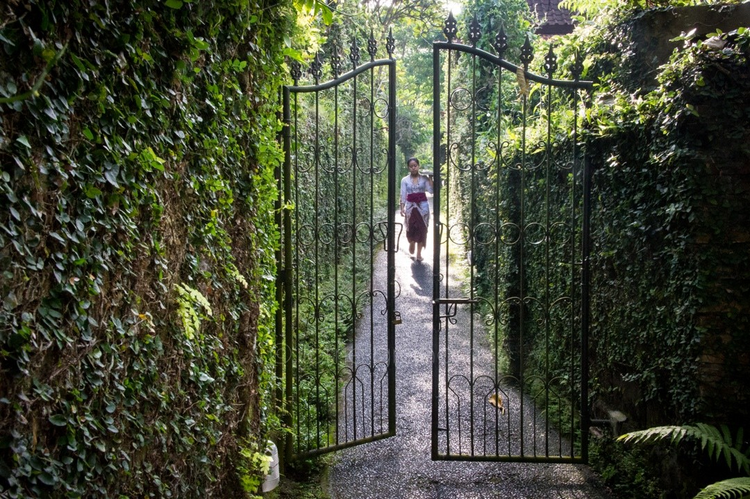 The pathway to the Ananda Cottages Annexe, Ubud, Bali