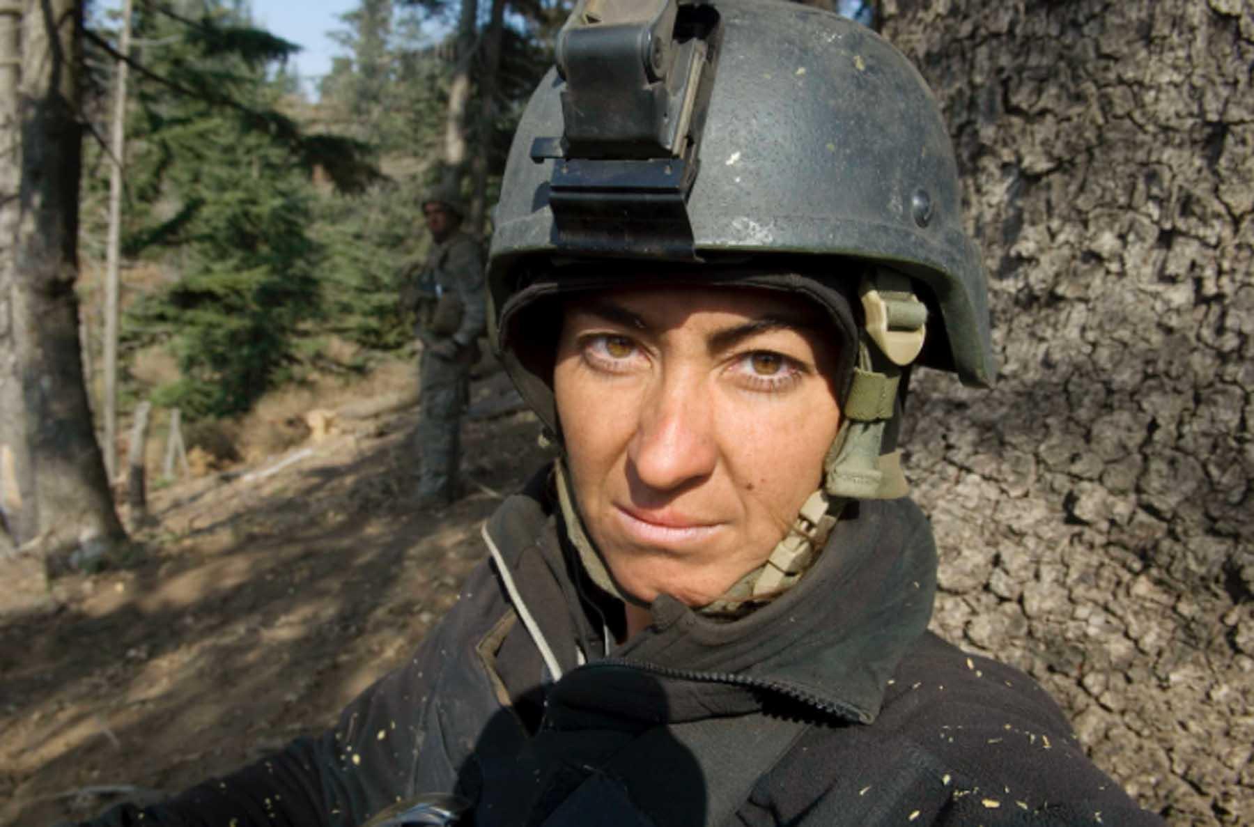Lynsey Addario in Afghanistan