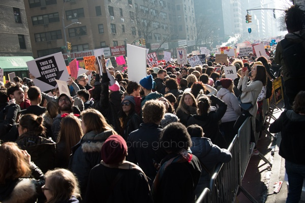 Women's March, New York, Jan 21st 2017