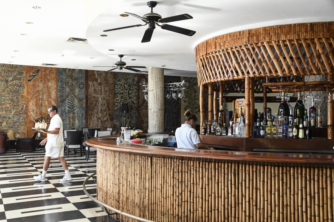 The Historical Hilton Hotel now know as Hotel Habana Liibre in Havana, Cuba oozes history. Castro made it his headquaters in 1959. Its Mad Men era interiors have recently been updated © Lorrie Graham