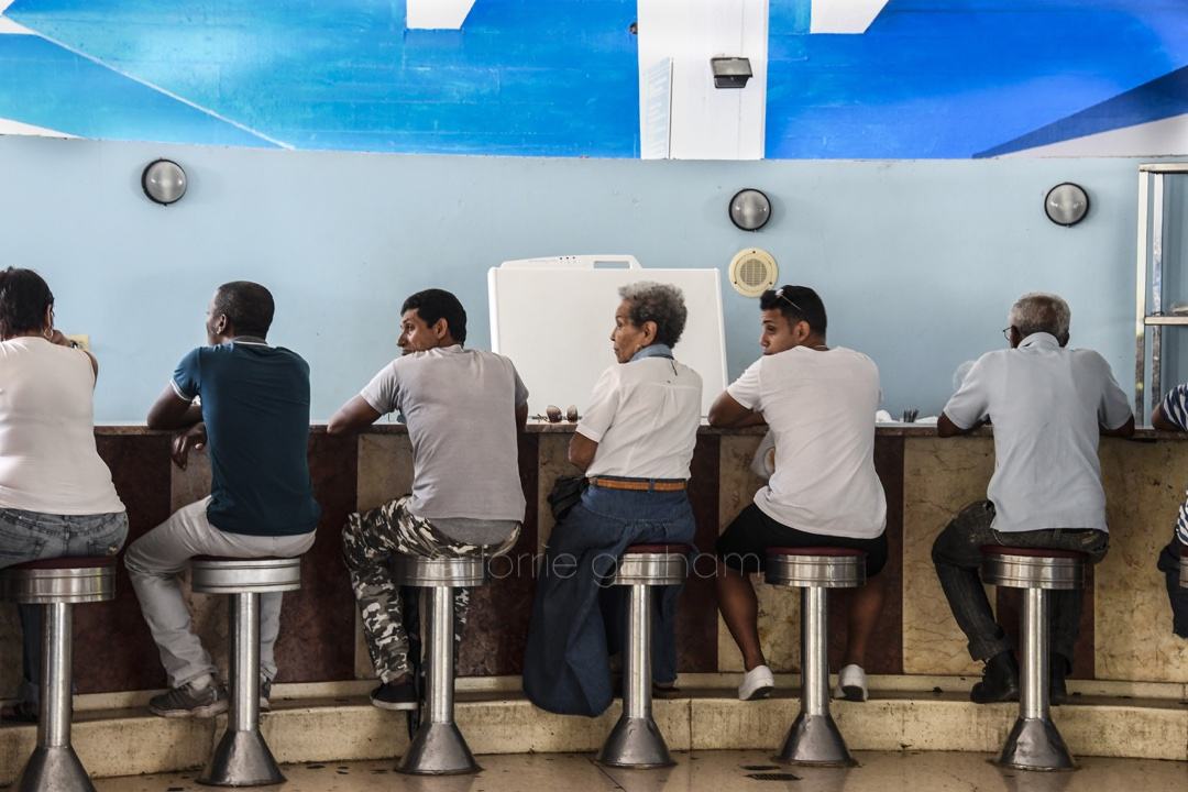 Cappella ice cream parlour in Havana, Cuba is a wonderful example of the innocent simple pleasures that makes Cuba so wonderful.