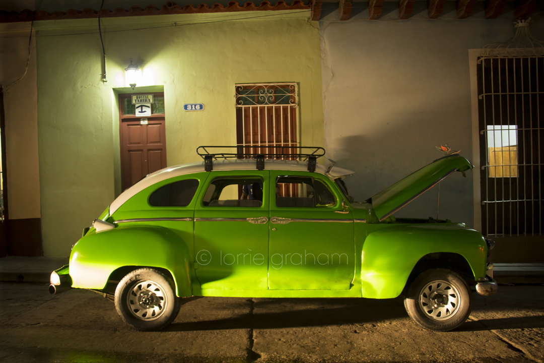 For car lovers a treat from Trinidad, Cuba