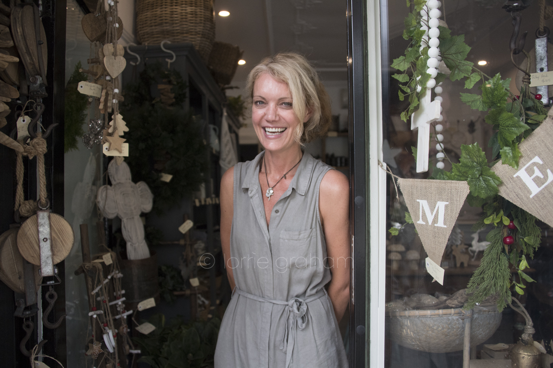 Meet Ms Hargrave, well Chella Monaghan who owns and runs this lovely little homewares store in Hargrave Street, Paddington.