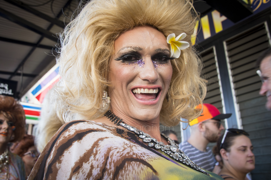 Images from the 40th Anniversary Parade of the Sydney Mardi Gras, March 2018