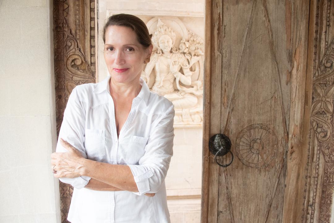 Janet de Neefe profile, Ubud, Bali, January 2017