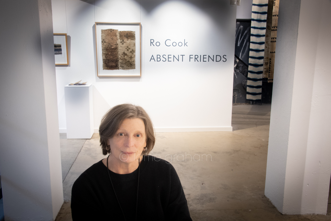 "Exhibition by Ro Cook ""Absent Friends"", The Incinerator Gallery, Willoughby"
