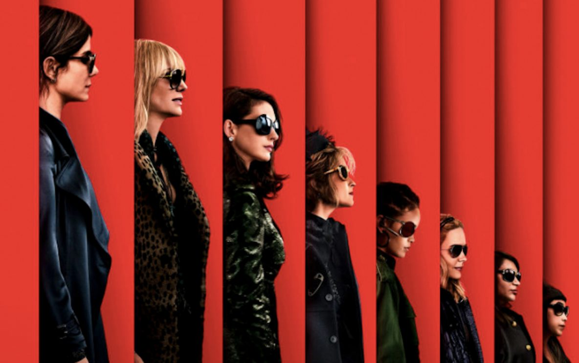 Poster for the all female Ocean's 8 Hollywood film