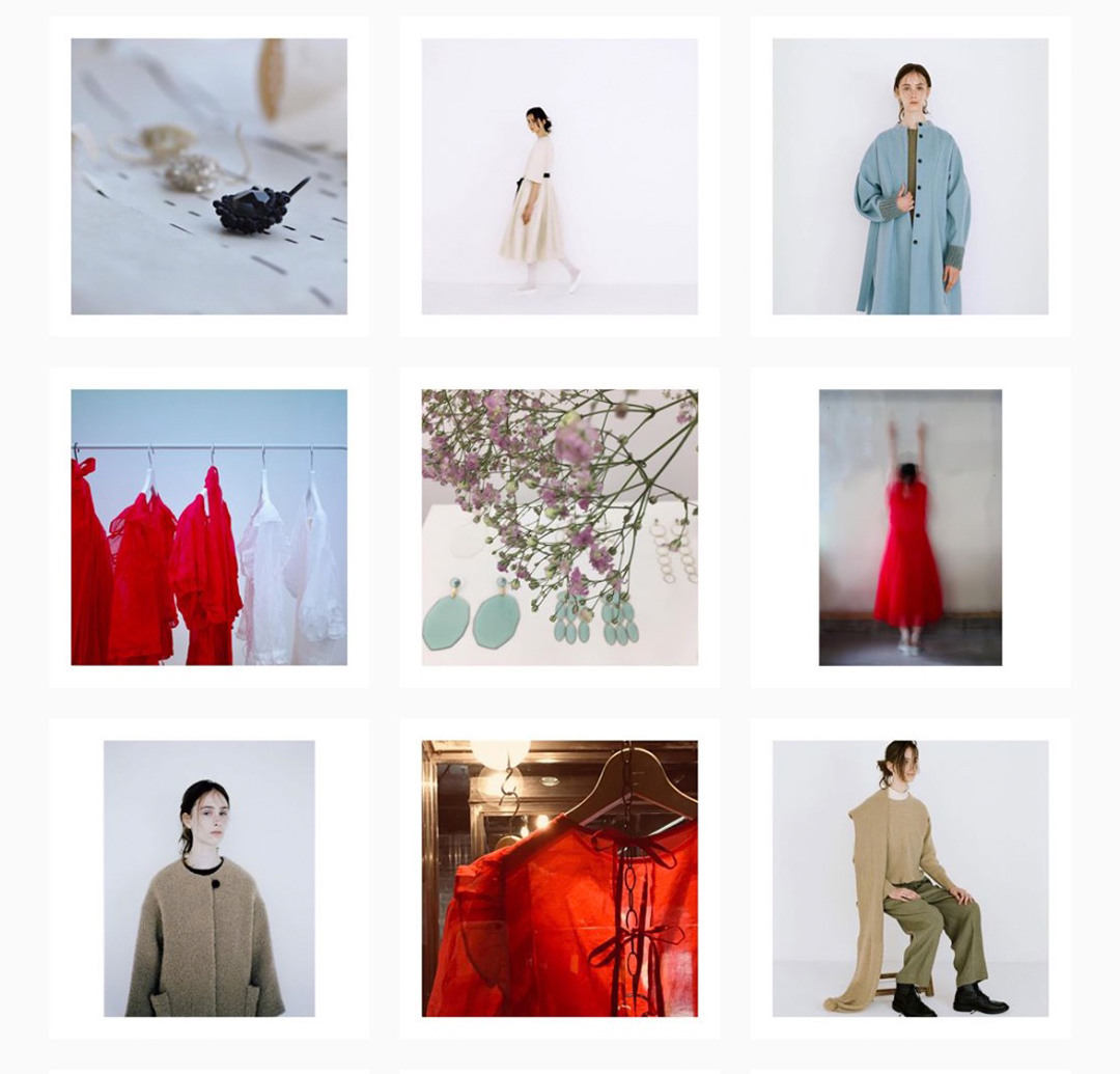 @nativevillage instagram feed, fashion label, Tokyo, Japan
