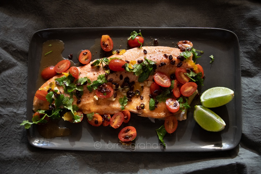 Roasted Trout, another great recipe from Yotam Ottolenghi from the book Ottolenghi Simple