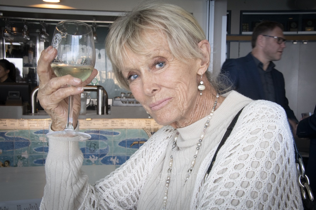 Valerie Taylor at the Bondi Icebergs, April 2019 Oceans Festival